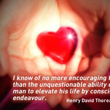 Conscious endeavour…