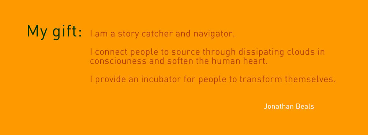I am a story catcher and navigator